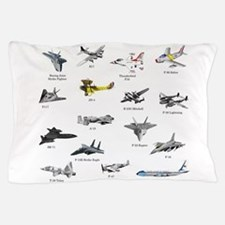Planes and Jets Pillow Case