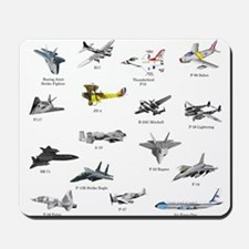Planes and Jets Mousepad