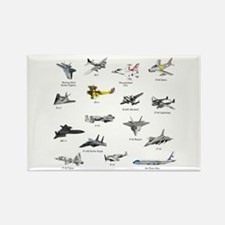 Planes and Jets Magnets