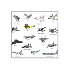 Planes and Jets Sticker