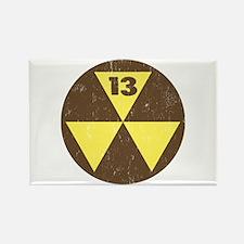 Unique Fallout shelter Rectangle Magnet