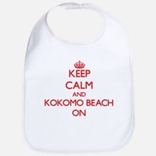 Keep calm and Kokomo Beach Northern Mariana Is Bib
