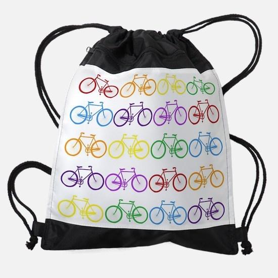 Rack O' Bicycles Drawstring Bag
