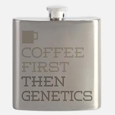 Coffee Then Genetics Flask