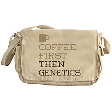 Coffee Then Genetics Messenger Bag