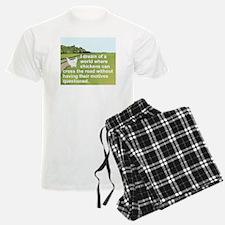 I DREAM OF A WORLD WHERE CHIC Pajamas