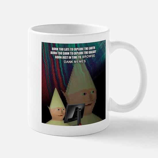Dank Meme Explorer Mugs