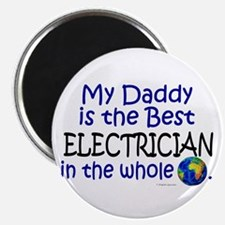 Best Electrician In The World (Daddy) Magnet