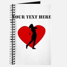 Golf Heart (Custom) Journal