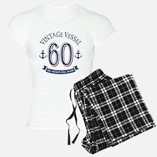 Nautical 60th Birthday Pajamas