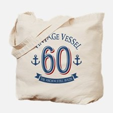 Nautical 60th Birthday Tote Bag