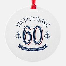 Nautical 60th Birthday Ornament