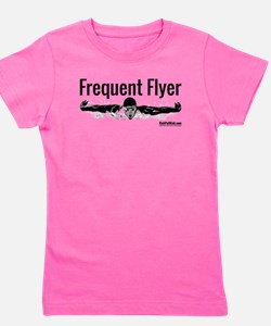 Frequent Flyer Girl's Tee
