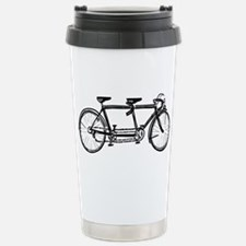 Cute Tandem cycle Travel Mug