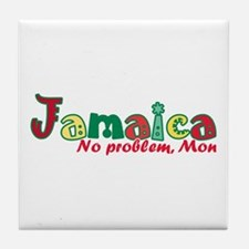 Jamaica No Problem Tile Coaster