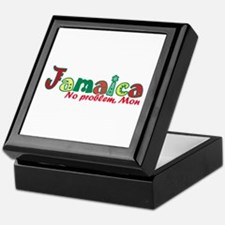 Jamaica No Problem Keepsake Box