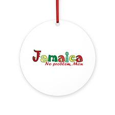 Jamaica No Problem Ornament (Round)