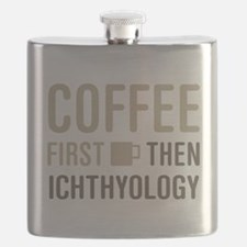 Coffee Then Ichthyology Flask