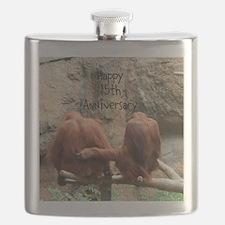 Anniversary Orangutans Flask