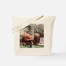 Anniversary Orangutans Tote Bag