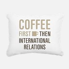 International Relations Rectangular Canvas Pillow