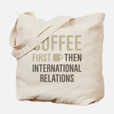 International Relations Tote Bag