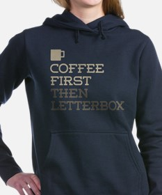 Coffee Then Letterbox Women's Hooded Sweatshirt