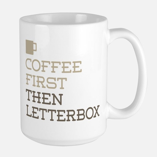 Coffee Then Letterbox Mugs
