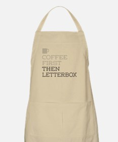 Coffee Then Letterbox Apron