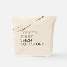 Coffee Then Locksport Tote Bag