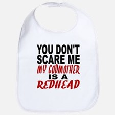 My Godmother Is A Redhead Bib