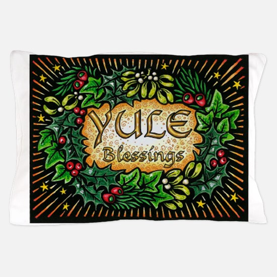 YuleBlessings Pillow Case