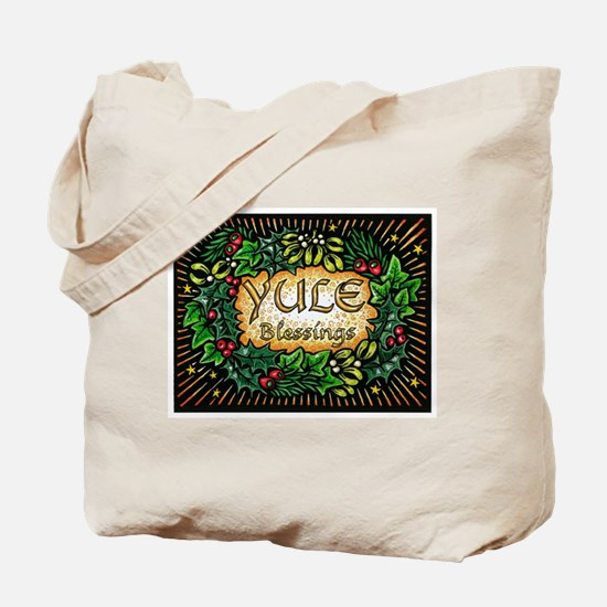 YuleBlessings Tote Bag