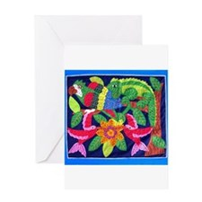 Cute Fiber arts Greeting Card