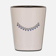 Socialite Sapphire Stunner Shot Glass