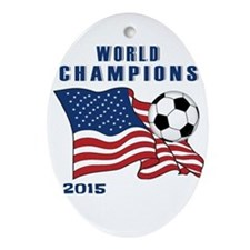 WC 2015 Ornament (Oval)