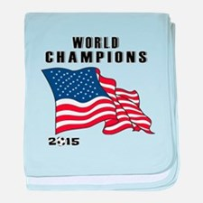 WC 2015 baby blanket