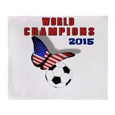 WC 2015 Throw Blanket