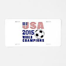 WC 2015 Aluminum License Plate