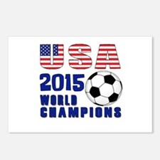 WC 2015 Postcards (Package of 8)