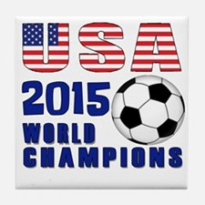 WC 2015 Tile Coaster