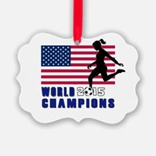 Women's Soccer Champions Ornament