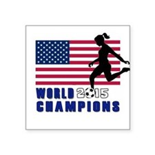 Women's Soccer Champions Sticker