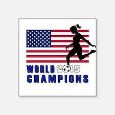 Women's Soccer Champions Sticker