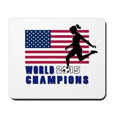 Women's Soccer Champions Mousepad