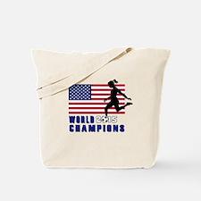 Women's Soccer Champions Tote Bag
