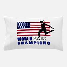 Women's Soccer Champions Pillow Case