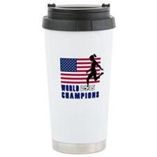 Women's Soccer Champions Travel Mug