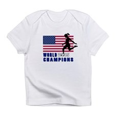 Women's Soccer Champions Infant T-Shirt