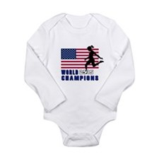 Women's Soccer Champions Body Suit